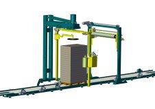 Automatische Palettenwickler, AOP 161 K Integra, automatische Folien